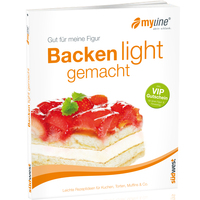 "MYLINE Backbuch ""Backen light gemacht"""